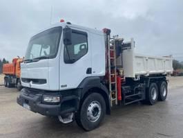kipper vrachtwagen > 7.5 t Renault Kerax 2002