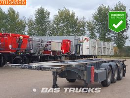 container chassis oplegger Van Hool ADR 1x 20ft. 1x 30ft. 2017