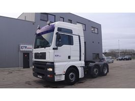 standaard trekker MAN TGA 18.430 (MANUAL GEARBOX / 6X2 / BELGIAN TRUCK IN GOOD CONDITION) 2006