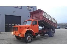 kipper vrachtwagen > 7.5 t Iveco 170 - 14 (GRAND PONT / SUSPENSION LAMES / V6 MOTEUR) 1985