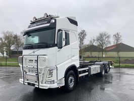 wissellaadbaksysteem vrachtwagen Volvo FH540 6X2 GLOBETROTTER RETARDER EURO 6 2014