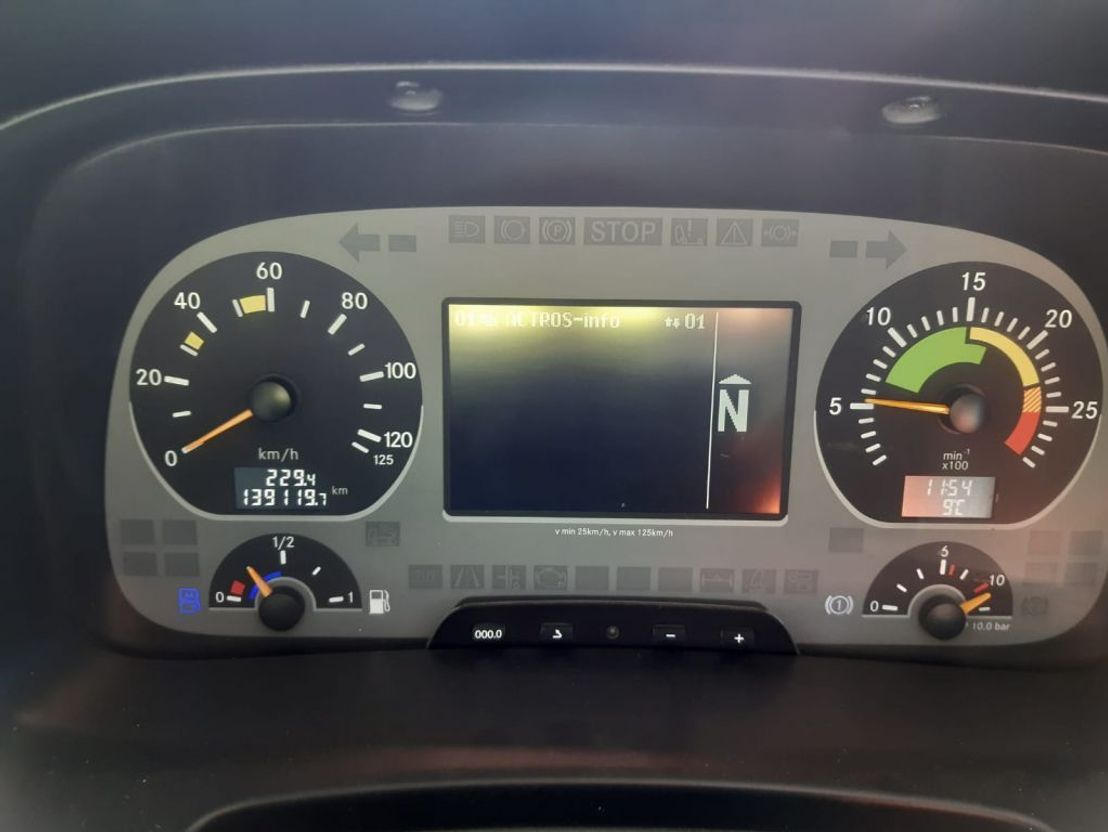 betonpomp vrachtwagen Mercedes-Benz ACTROS 4141 B + Boomix M429 pompmixer PUMI mixerpomp 2011