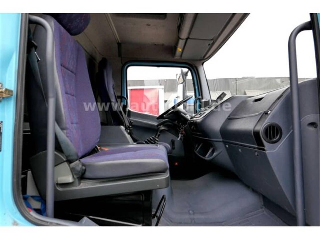 koelwagen vrachtwagen Mercedes-Benz Atego 1218 Kühlkoffer LBW 2000kg Kamera 2003