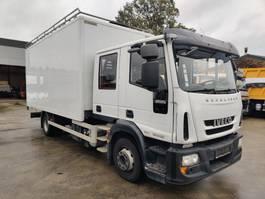 bakwagen vrachtwagen Iveco 120E25 EEV EuroCargo Double Cab 2013
