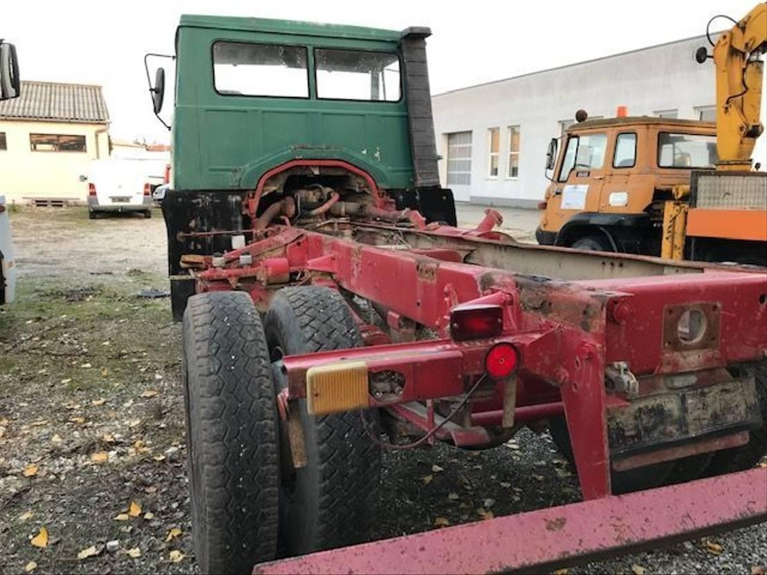 chassis cabine vrachtwagen Steyr 891 1981