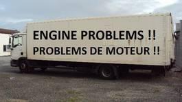 bakwagen vrachtwagen MAN TGL 10.210 BL Koffer 7,8m Lbw Schalt E4 2007
