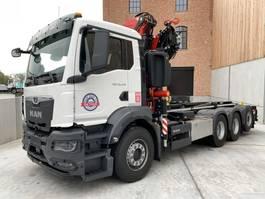 kraanwagen MAN New Generation MAN TGS 35.470 8x4-4 BL-NN kraan+containerhaak 2020