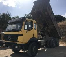 kipper vrachtwagen > 7.5 t Mercedes-Benz 2435 6X4 Big Axles 1992