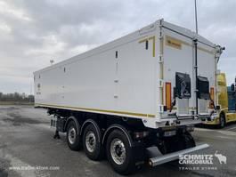 huifzeil oplegger Wielton Semitrailer Tipper Alu-square sided body 45m³ 2019
