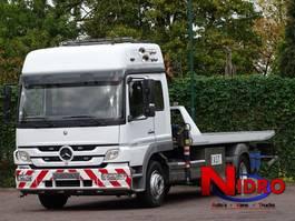 takelwagen-bergingswagen-vrachtwagen Mercedes-Benz ATEGO 1328 TOWTRUCK, 10 TM CRANE, WHEEL-LIFT, WINCH 2006