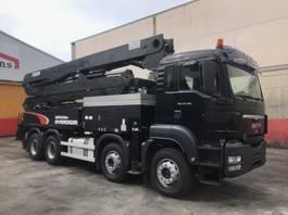 betonpomp vrachtwagen MAN TGS 35.360 CONCRETE PUMP EVERDIGM 37-ZX 2009