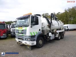 kolkenzuiger vrachtwagen Foden S106R 6x4 RHD Whale vacuum tank 12.1 m3 2006
