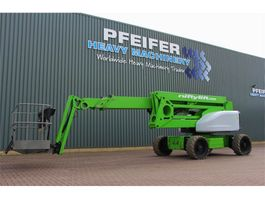 knikarmhoogwerker wiel Niftylift HR28 HYBRID 4x4 Drive Hybrid Power, 28m Working He 2014