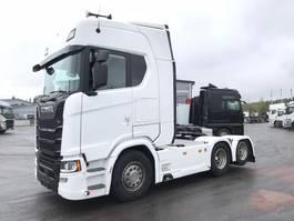 standaard trekker Scania S580 6x2, upea V8 Scania takateli veturi 2017