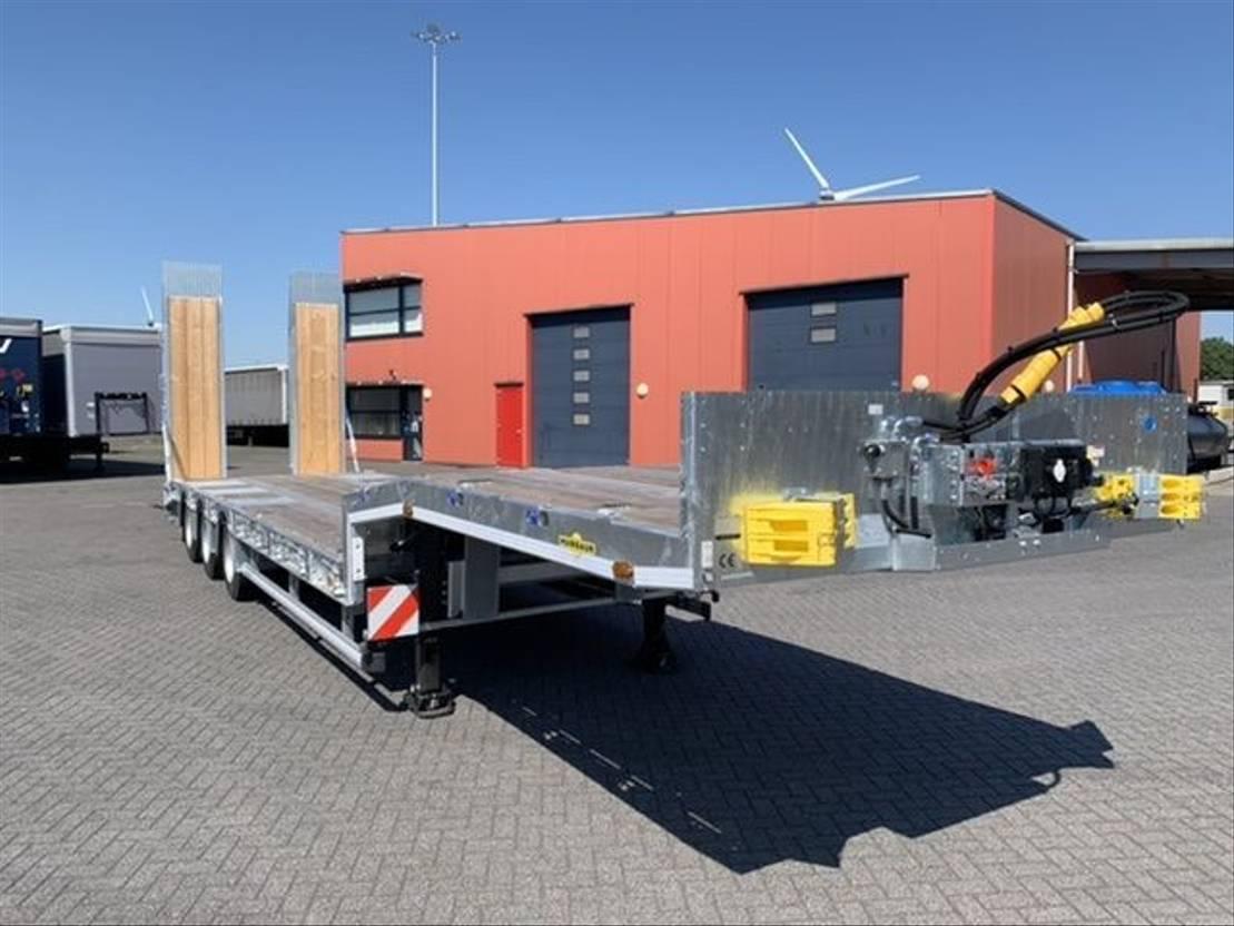 semi dieplader oplegger Humbaur 3 as semi dieplader * VOORRAAD * 2021