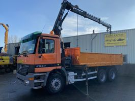 kraanwagen Mercedes-Benz Actros 2640 Kipper 6x4 V6 Hiab Crane Good Condition 2003