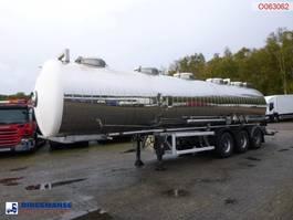 tankoplegger MAISONNEUVE Chemical tank inox 32.4 m3 / 1 comp 1995
