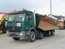 kipper vrachtwagen Mercedes-Benz Actros 3241 K 8x4 4-Achs Kipper Bordmatik 2007