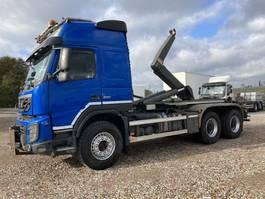 containersysteem vrachtwagen Volvo FMX 500 6X4 BB Haaksysteem 25 ton  2013 2013