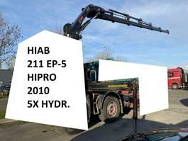 Kraanarm vrachtwagen onderdeel Hiab 211 EP-5 HIPRO + REMOTE + 2 OUTRIGGERS 211 EP-5 2010