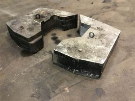 overige equipment onderdeel Faun ATF 60-4 counterweight 0,51+0,16 t