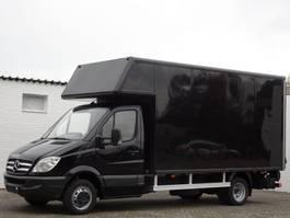 bakwagen bedrijfswagen < 7.5 t Mercedes-Benz Sprinter 515 Cdi Koffer Maxi Klima LBW 3.5 t Euro 4 2007