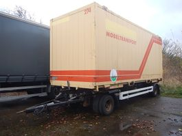 container chassis oplegger Krone veksellads hænger 2003