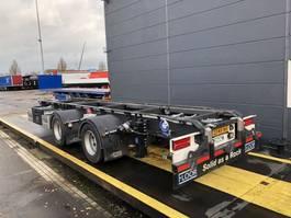 container chassis aanhanger Floor container middenas aanhangwagen 2020