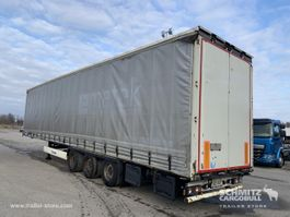 mega-volume oplegger Krone Semitrailer Curtainsider Mega 2012