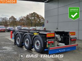 container chassis oplegger D-TEC CC-20-3-T 20 Ft. ADR Liftaxle 2020