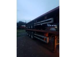 container chassis oplegger LAG 3ASSEN BLADVERIGEN 1989