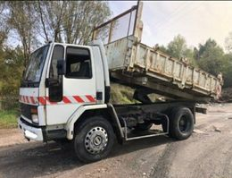 kipper vrachtwagen > 7.5 t Ford Cargo 1113 Tri-benne / 3 way tipper 1986