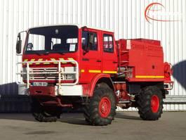 brandweerwagen vrachtwagen Renault 85.150 4x4 Camiva CCF 2000 pomp - feuerwehr - fire brigade - brandweer -... 1992
