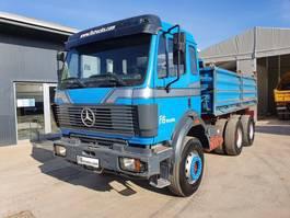 kipper vrachtwagen > 7.5 t Mercedes-Benz SK 2538 K 6x4 meiller tipper 1992