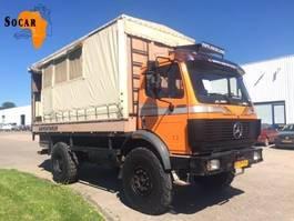 huifzeil vrachtwagen Mercedes-Benz 1722 AK 4x4 Expeditie - Truck 1992