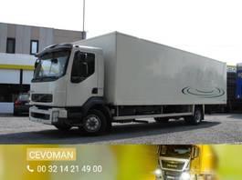 bakwagen vrachtwagen Volvo FL6 240 Bakwagen met laadklep euro4 2007