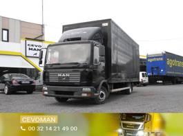 bakwagen vrachtwagen MAN TGL 12 .210 2005