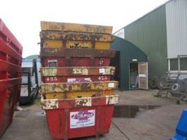 puin container gebruikte containers