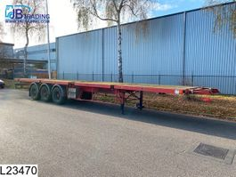 platte oplegger Trailor open laadbak 10 / 20 / 30 / 40 / FT container chassis, Steel suspension,... 1992