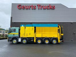 kolkenzuiger vrachtwagen MAN TGS 35.440 10X4 TRIDEM RSP SAUGBAGGER/SUCTIONEXAVATOR/GRONDZUIGER 2011