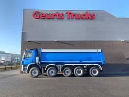 kipper vrachtwagen Ginaf X 5450 S 10X8 KIPPER/TIPPER 2010