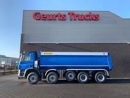 kipper vrachtwagen Ginaf X 5450 S 10X8 KIPPER/TIPPER 2009