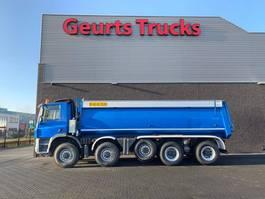 kipper vrachtwagen Ginaf X 5450 S 10X8 TIPPER/KIPPER 2009
