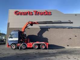 zware last trekker Volvo FH 540 8X4 TRACTOR + PALFINGER PK 60002 C kran/kraan/crane/grua
