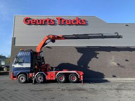 zware last trekker Volvo FH 540 8X4 + PALFINGER PK 60002 C/kran/grua/kraan/crane