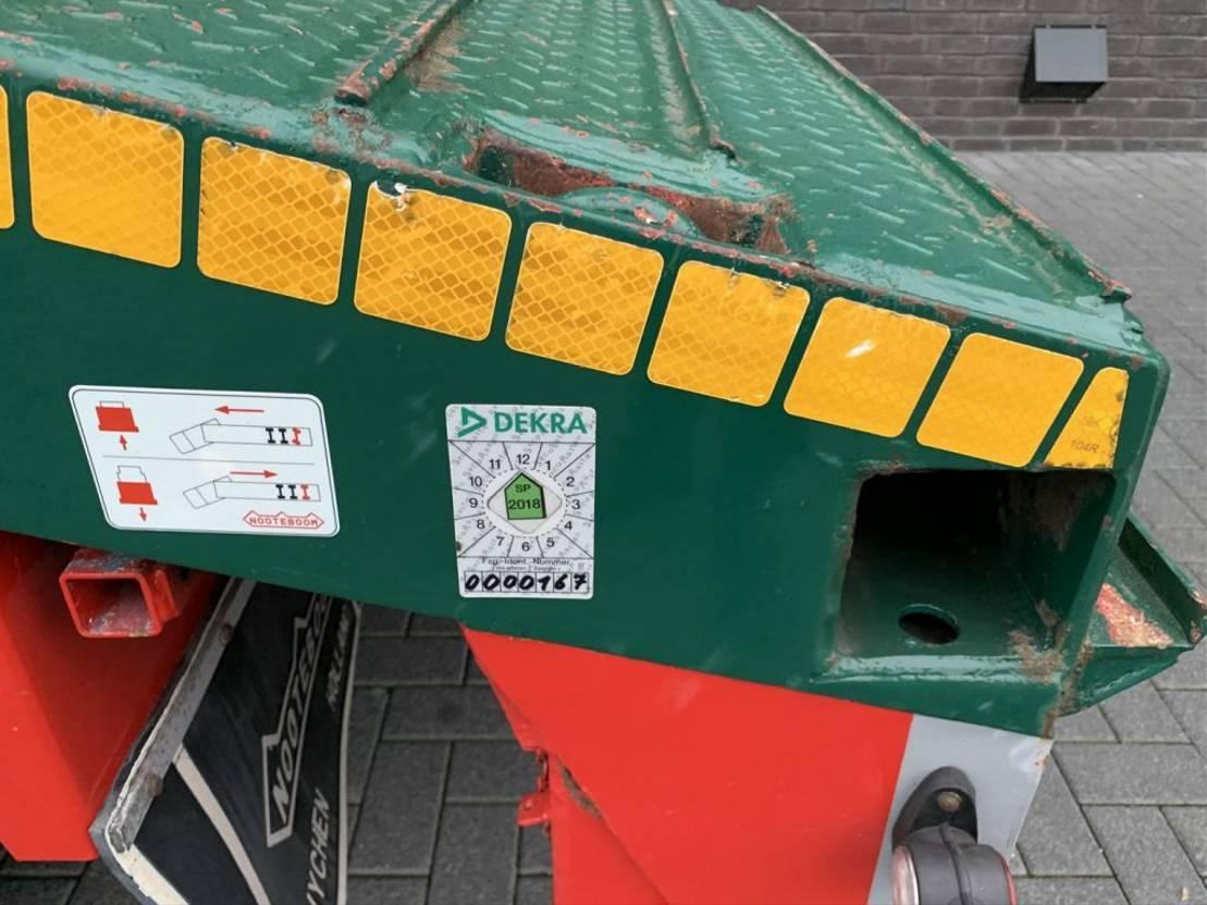 semi dieplader oplegger Nooteboom OSD-58-04V 4 AXEL SEMIE LOWLOADER