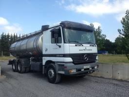 tankwagen vrachtwagen Mercedes-Benz 2640 6X4 citerne inox isotherme  16000 L 1999
