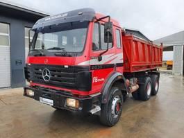 kipper vrachtwagen > 7.5 t Mercedes-Benz SK 2635 K 6X4 MEILLER TIPPER - big axle 1991