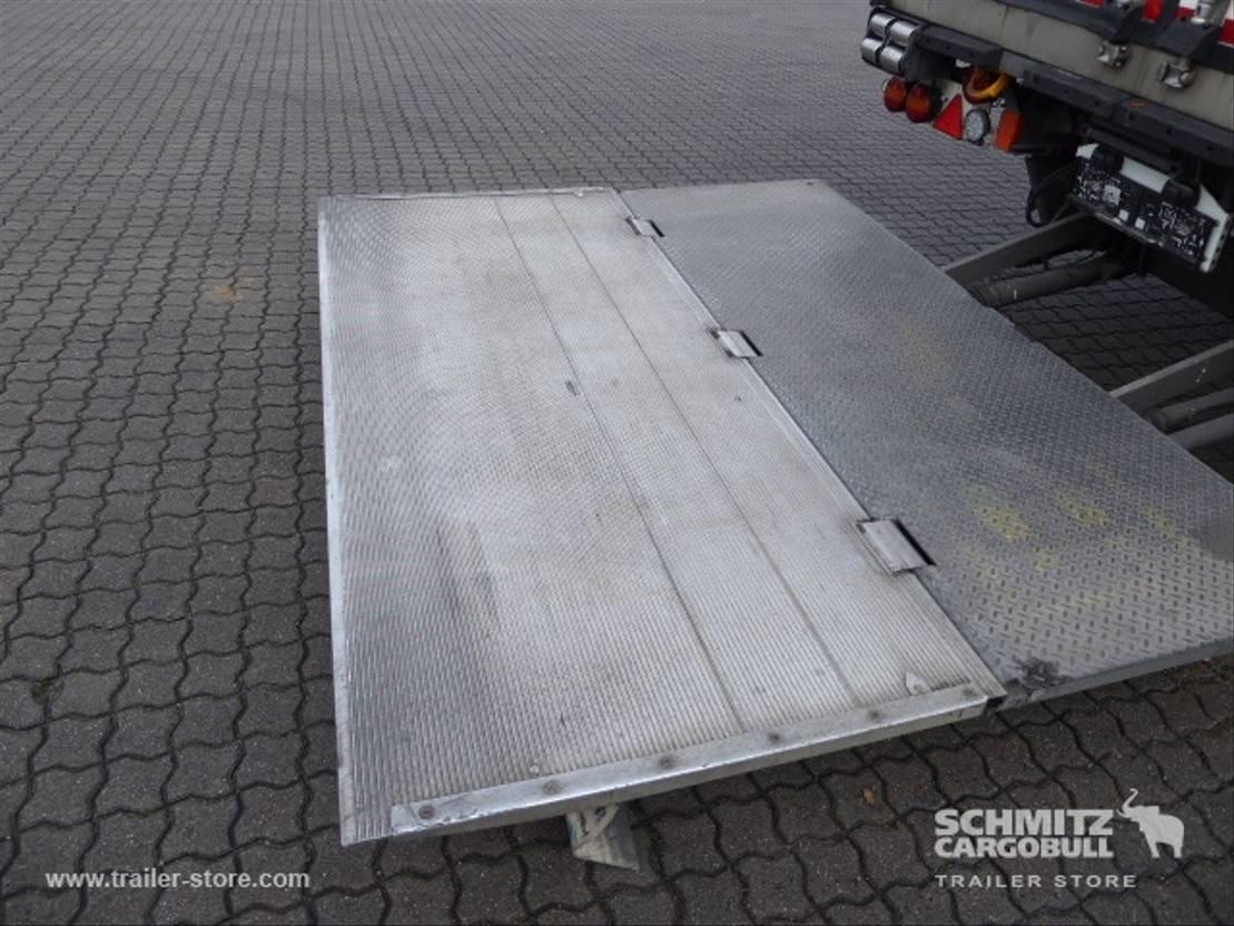 koel-vries oplegger Schmitz Cargobull Auflieger Tiefkühler Standard Dubbeldeks Hydr. laadklep 2016
