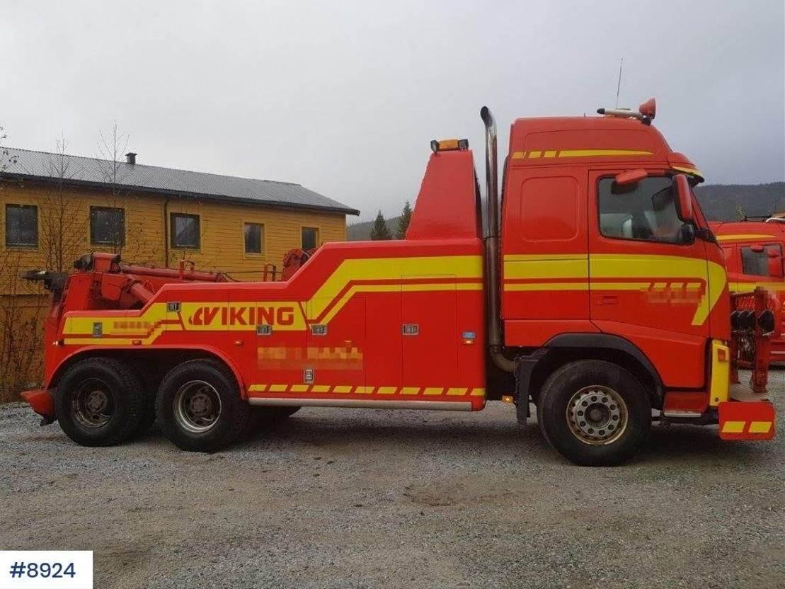 takelwagen-bergingswagen-vrachtwagen Volvo FH 12 Tow truck with Warta build 2003